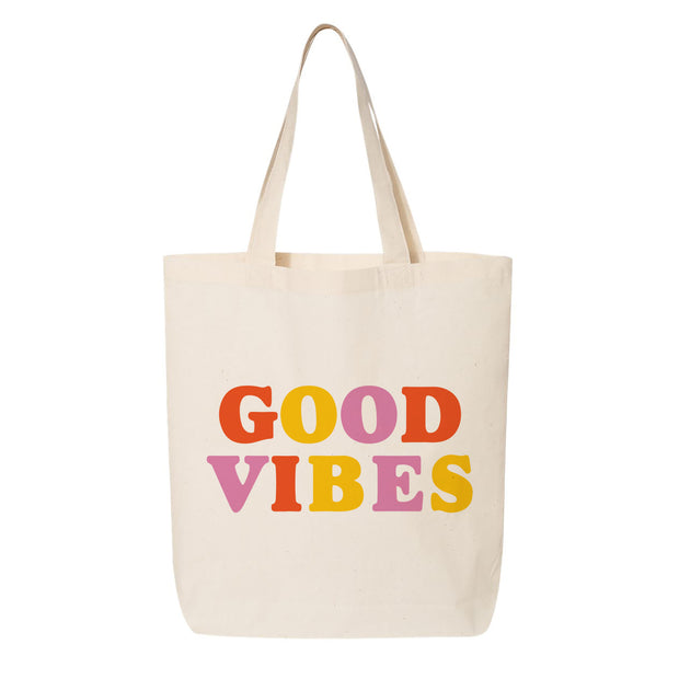 Good Vibes RTG Canvas Tote