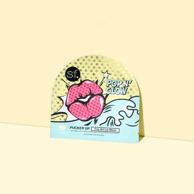 Pucker Up Pop Art Lip Mask