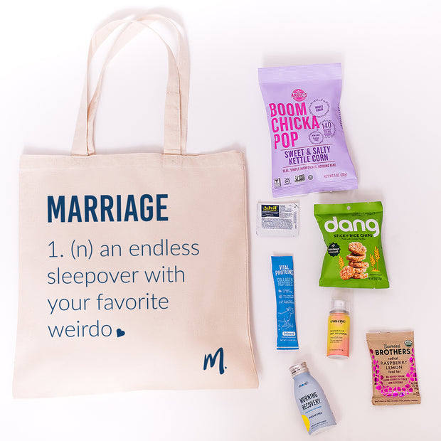 Marriage Canvas Tote Online