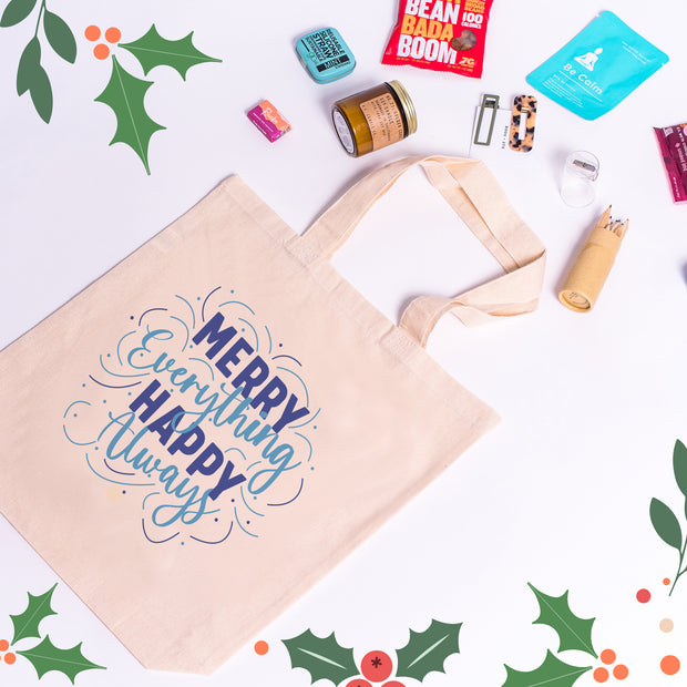 Merry Everything - Holiday Gift Totes
