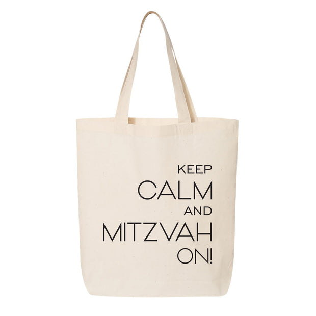 Keep Calm and Mitzvah On Canvas Custom Online