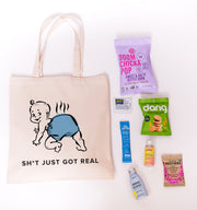 Sh*t Just Got Real Canvas Tote Online