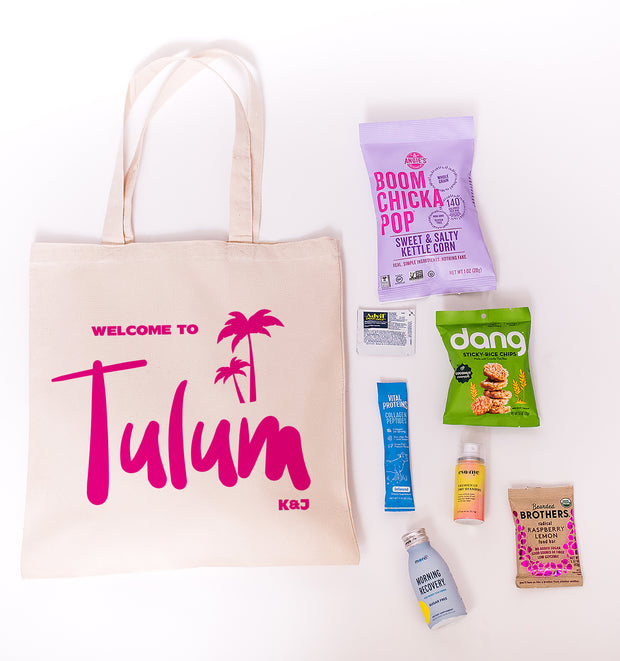 Tulum Customizable Canvas Tote Online