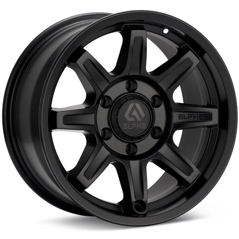 COMMAND 16X8 6X139 +0 MATTE BLACK / AC168061390MB