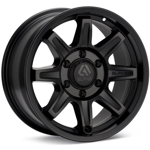 COMMAND 18X9 5X127 +0 MATTE BLACK / AC189051270MB