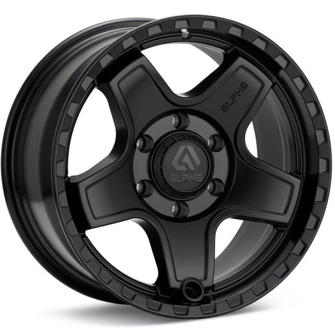 ECHO 18X9 6X135 +15 MATTE BLACK / AE1890613515MB