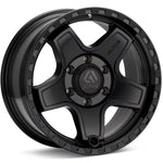 ECHO 17X8.5 6X135 +25 MATTE BLACK / AE1785613525MB