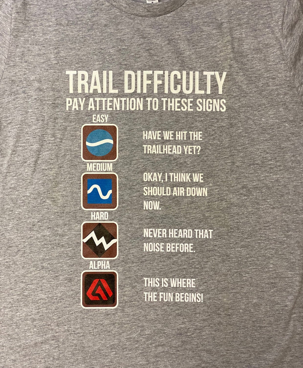 """Trail Difficulty"" T-Shirt"