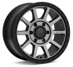 FOXTROT 17X7.5 5X100 +15 LIGHT GREY / BLACK LIP / AF1775510015LGBL