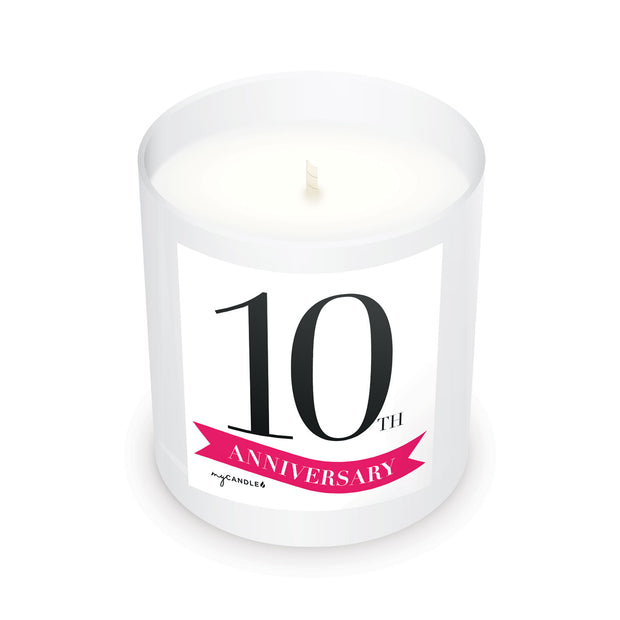 10 Year Anniversary - 11oz Candle