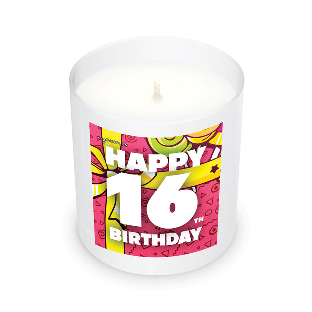 Happy 16th Birthday - 11oz Candle