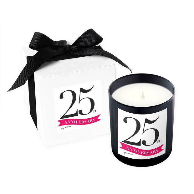 25 Year Anniversary - 11oz Candle
