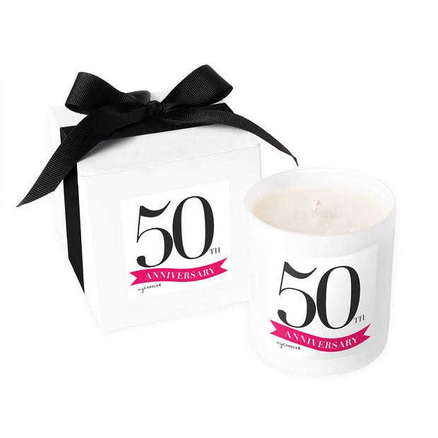 50 Year Anniversary - 11oz Candle