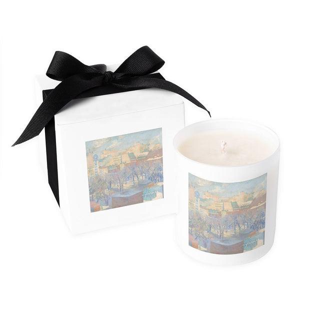 Allen Tucker Madison Square Snow c.1904 - 11oz Candle
