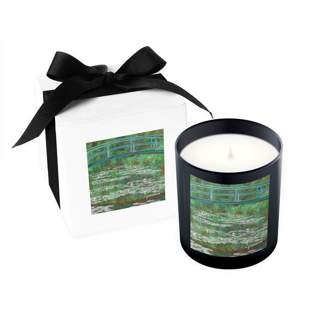 Claude Monet The Japanese Footbridge c.1899 - 11oz Candle