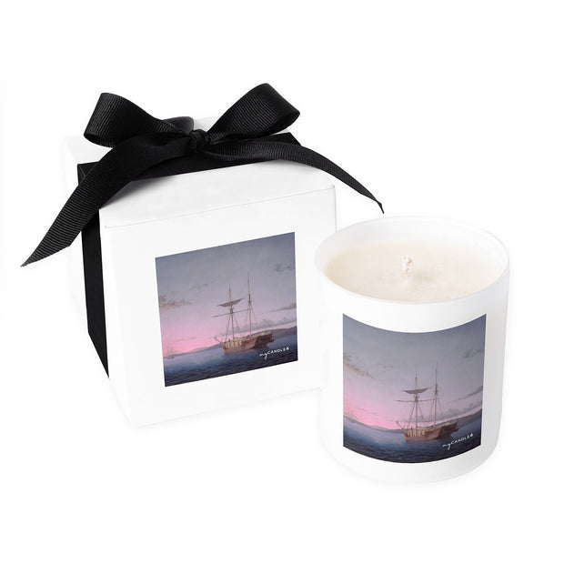 Fitz Henry Lane Lumber Schooners at Evening on Penobscot Bay c.1863 - 11oz Candle