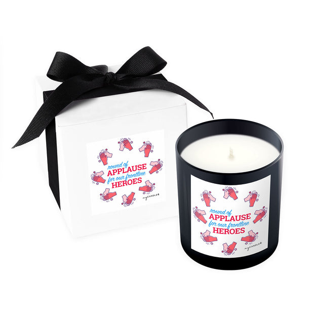 Applause for Our Frontline Heroes - 11oz Candle