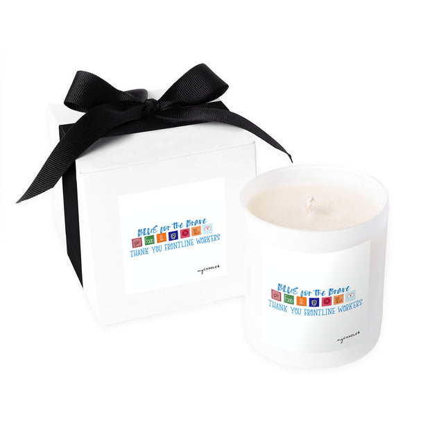 Blue for the Brave - 11oz Candle