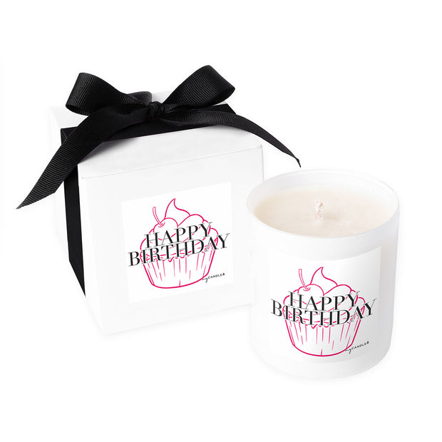 Happy Birthday Cupcake - 11oz Candle
