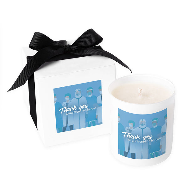 Thank You to Our Frontline Heroes - 11oz Candle
