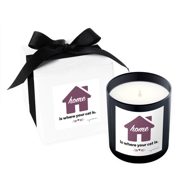 Home Is Where Your Cat Is - 11oz Candle