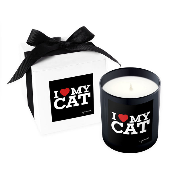 I Heart My Cat - 11oz Candle