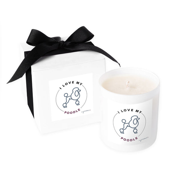 I Love My Poodle - 11oz Candle