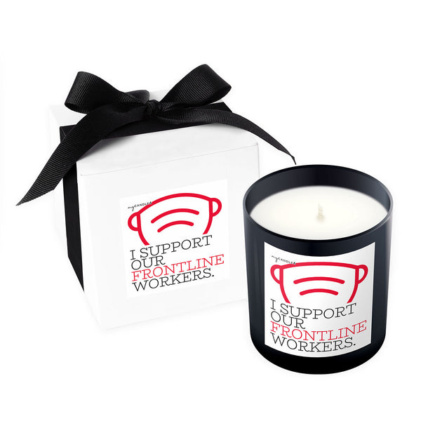 I Support Our Frontline Workers - 11oz Candle