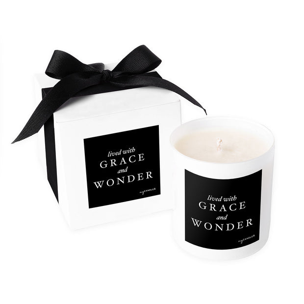 Lived with Grace and Wonder - 11oz Candle
