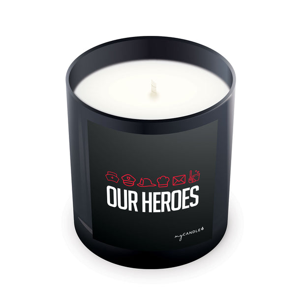 Our Heroes - 11oz Candle