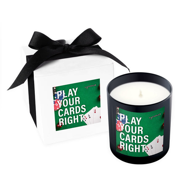 Play Your Cards Right - 11oz Candle