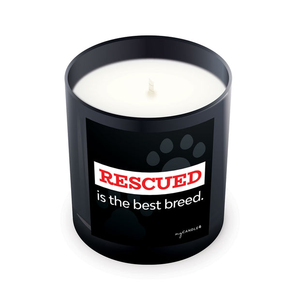 Rescued Is the Best Breed - 11oz Candle