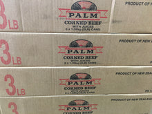 Load image into Gallery viewer, Palm Corned Beef 3lb box