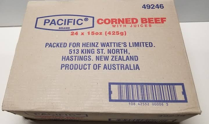 Pacific Corned Beef Box 24