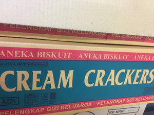 Aneka Cream Cracker Box
