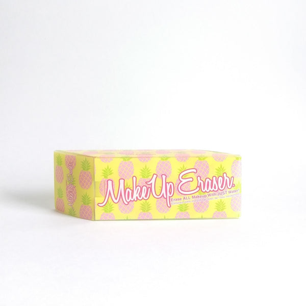 The Original Makeup Eraser, Pineapple Print, Erase All Makeup with Just Water!