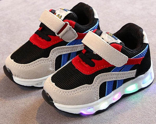 Tenis Sneakers Boys Luminous