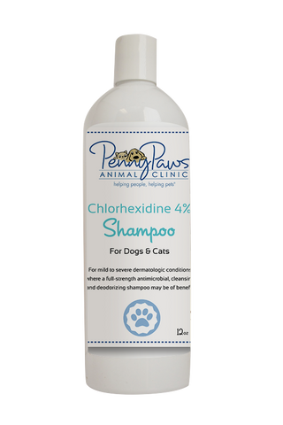 Chlorhexidine 4% Shampoo for Cats and Dogs