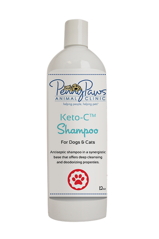 Keto-C Shampoo for Cats and Dogs