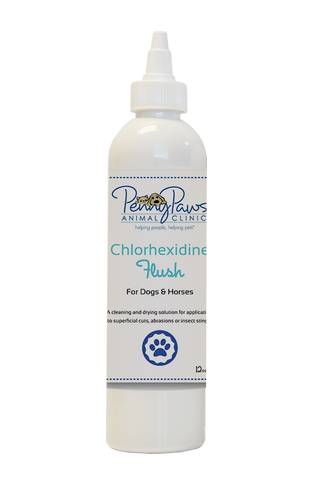 Chlorhexidine Flush for Dogs and Horses
