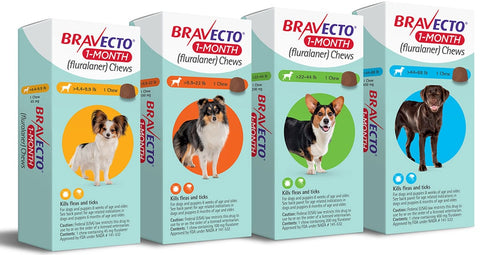 1-Month Bravecto (for puppies)