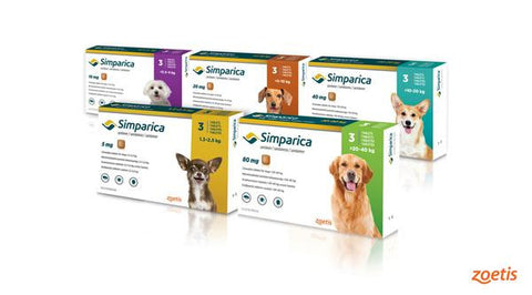 Simparica 3-month supply