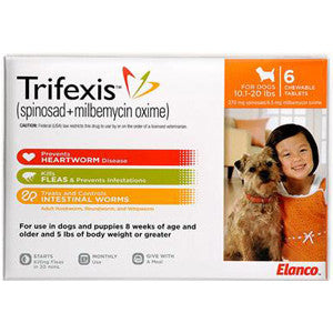 Trifexis (Heartworm/Flea prevention for dogs)