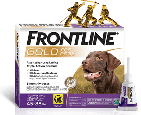 Frontline Gold (Dogs & Cats)
