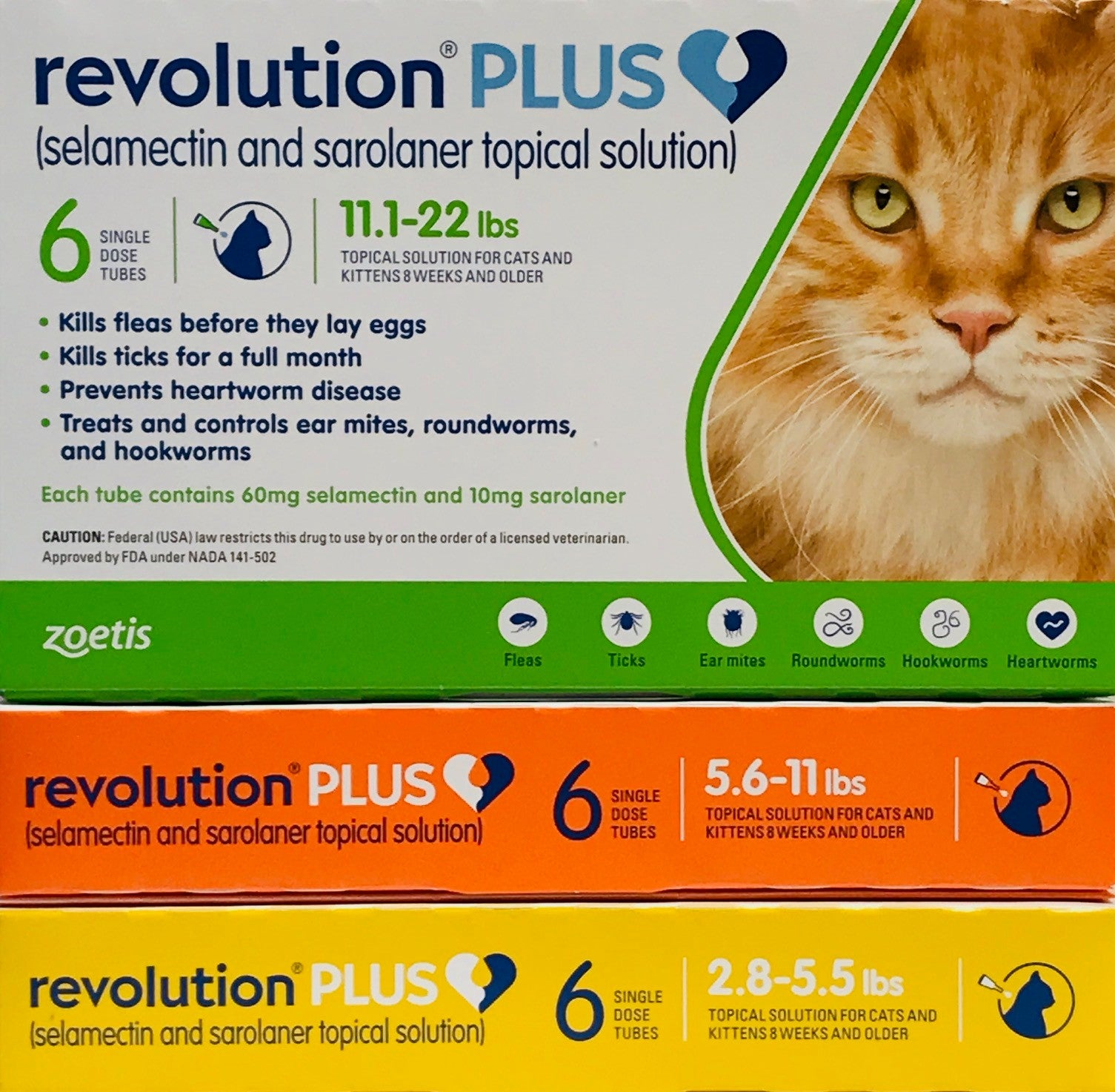 Revolution Plus Cat Penny Paws