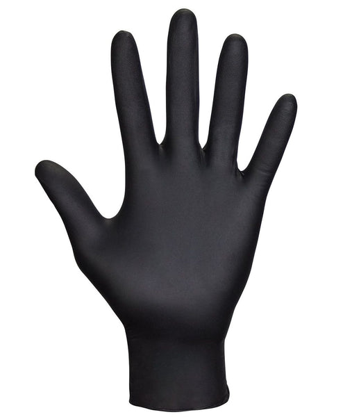 Black Nitrile Powder-Free Disposable Gloves<br> 6 mil Gloves Pure Hands PureHands.us DontDrinkSanitizer.com Don't Drink Sanitizer Sanitizer Dont Drink Sanitizer Hand Sanitizer Pure Hands