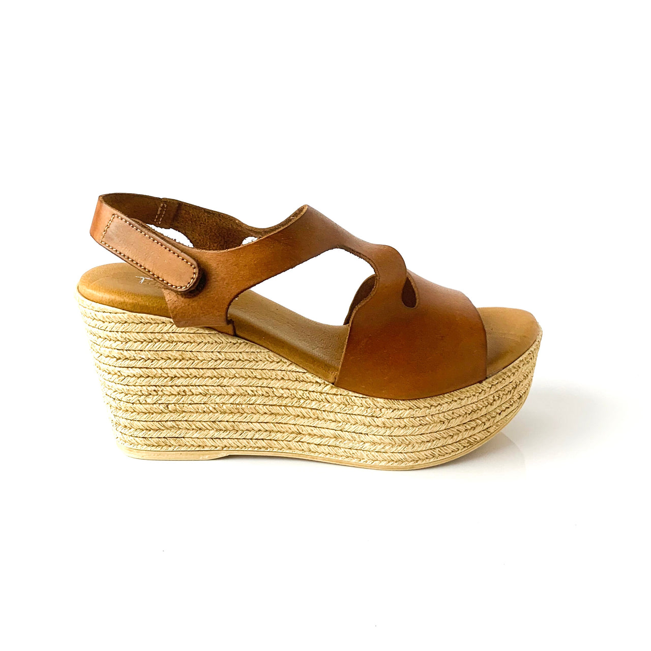 Sierra | Brown Platform Sandals - TrystShoes