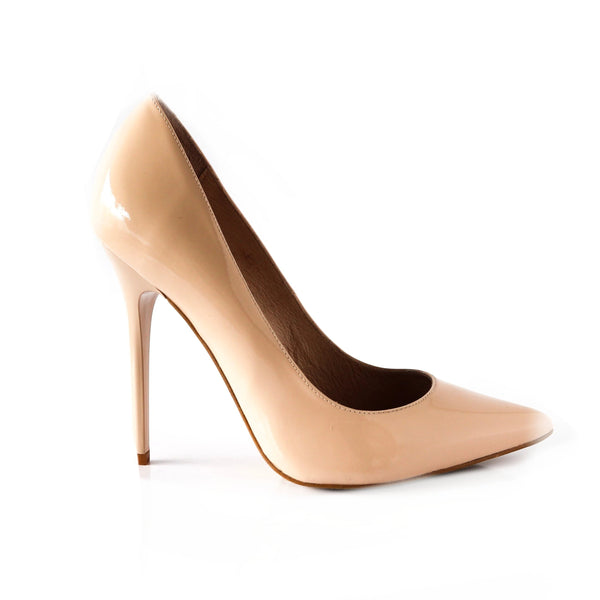 CARMEN | Cream Pointed Stilettos - TrystShoes