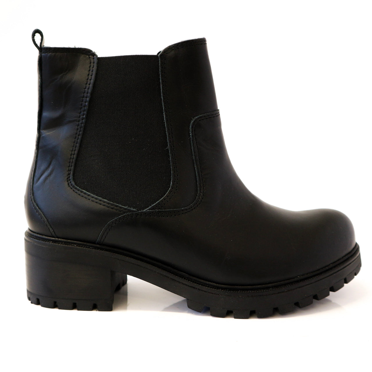 CAMILLA | Black Short Boot - TrystShoes