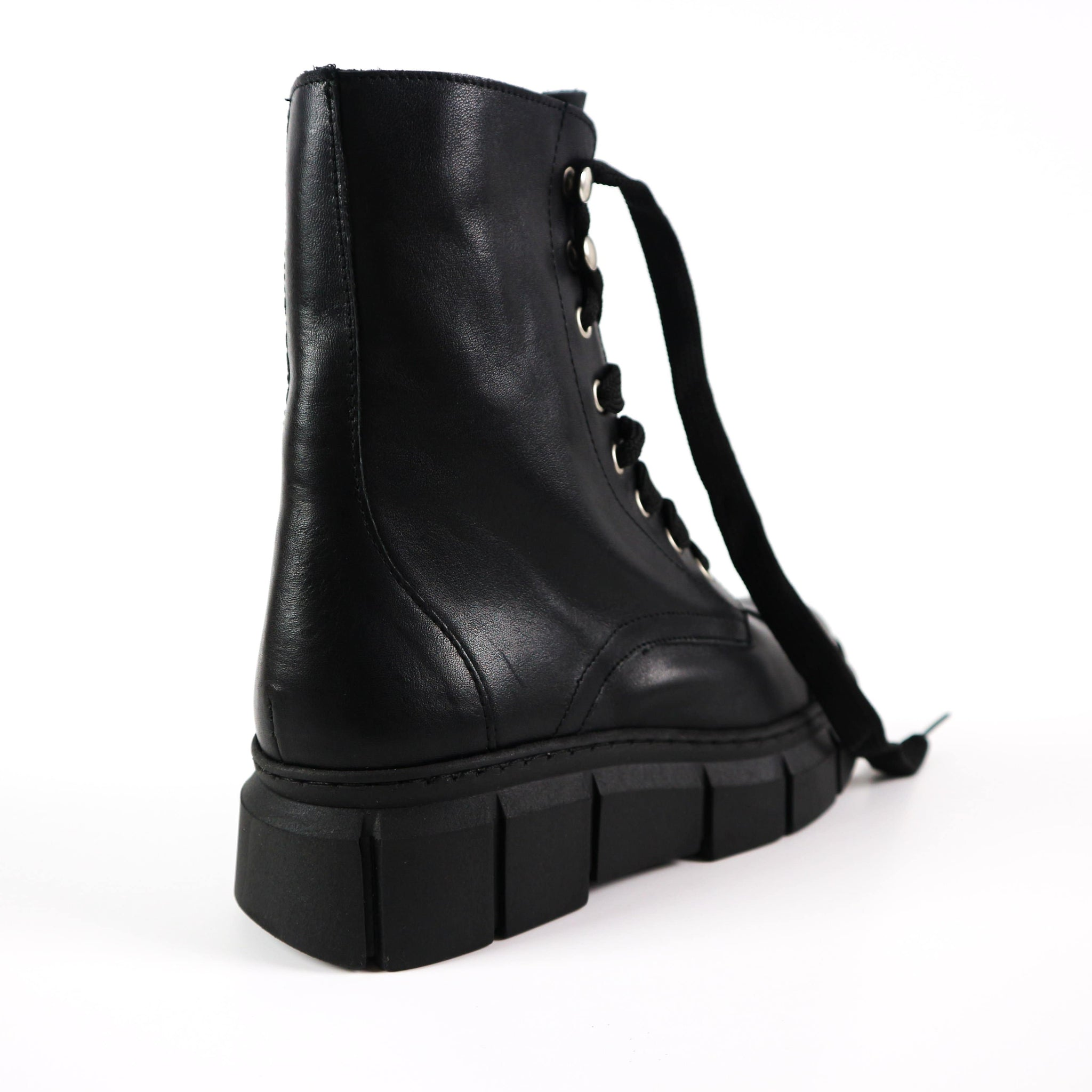 BECKY | Funky Black Boots - TrystShoes